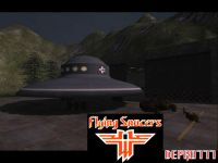 RtCW SP Mod Flying Saucers